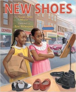 New Shoes (Holiday House) by Susan Lynn Meyer, Illustrated by Eric Velasquez